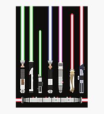 Star Wars Lightsaber Photographic Print