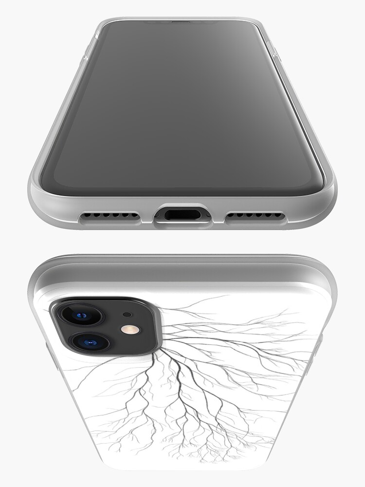 Alternate view of Mycelium (pencil drawing) iPhone Case & Cover