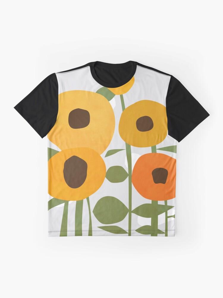 Alternate view of Sunflowers Graphic T-Shirt