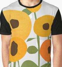 Sonnenblumen Grafik T-Shirt