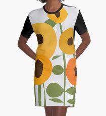 Sunflowers Graphic T-Shirt Dress