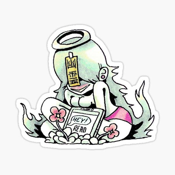 Ghost Girl Sticker