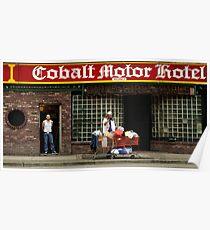 Cobalt Hotel Poster