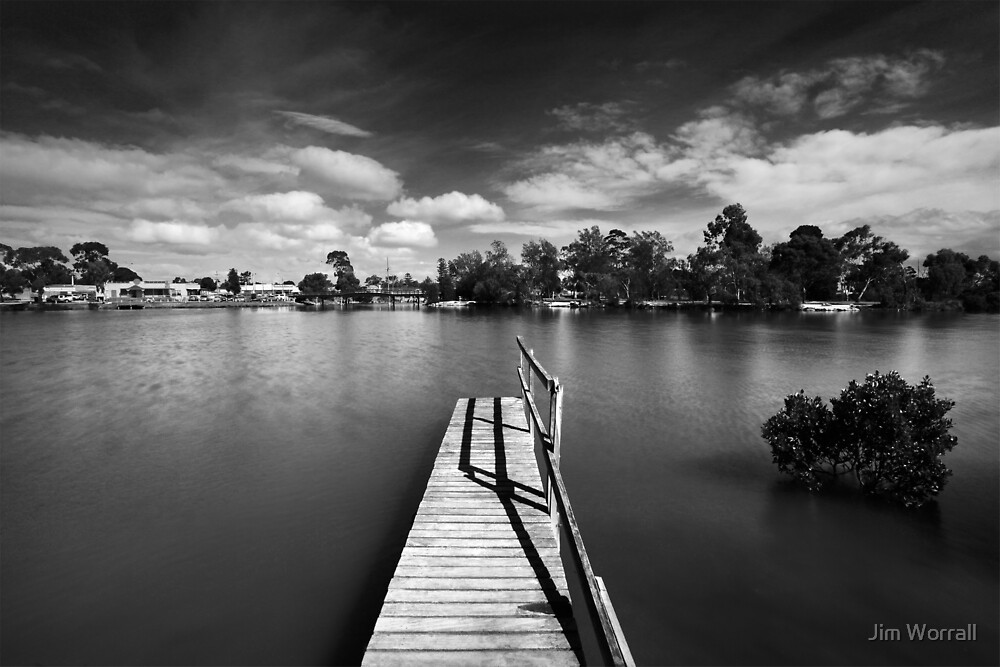 Sawtells Inlet - Tooradin by Jim Worrall
