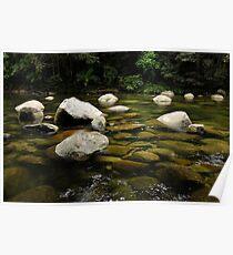 Granite Boulders at Mossman Gorge Poster