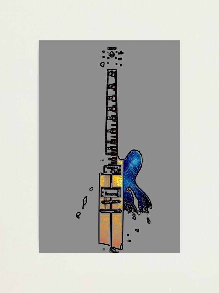 Alternate view of Guitar 4 Photographic Print