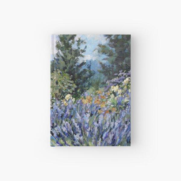 Lavender Profusion — Burgundy, France Hardcover Journal