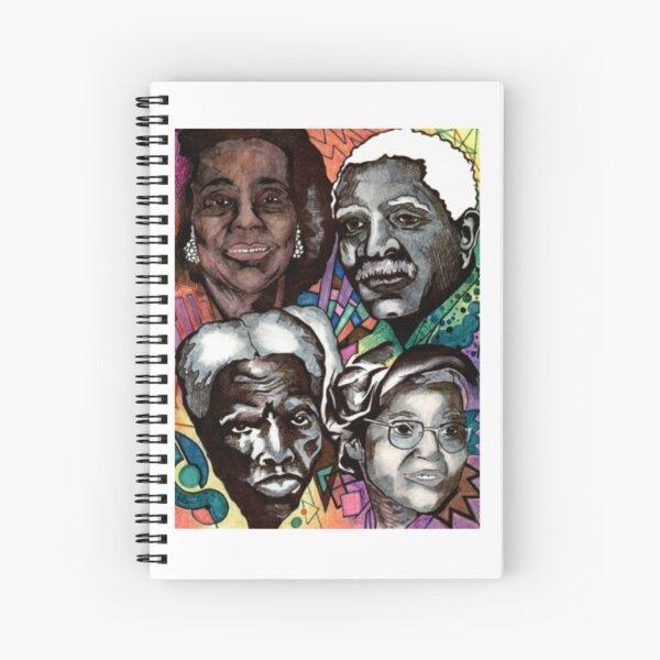Black History Month 2019 Spiral Notebook