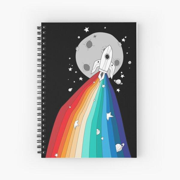 Pride Rocket Spiral Notebook