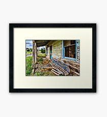 Crookwell Verandah Framed Print