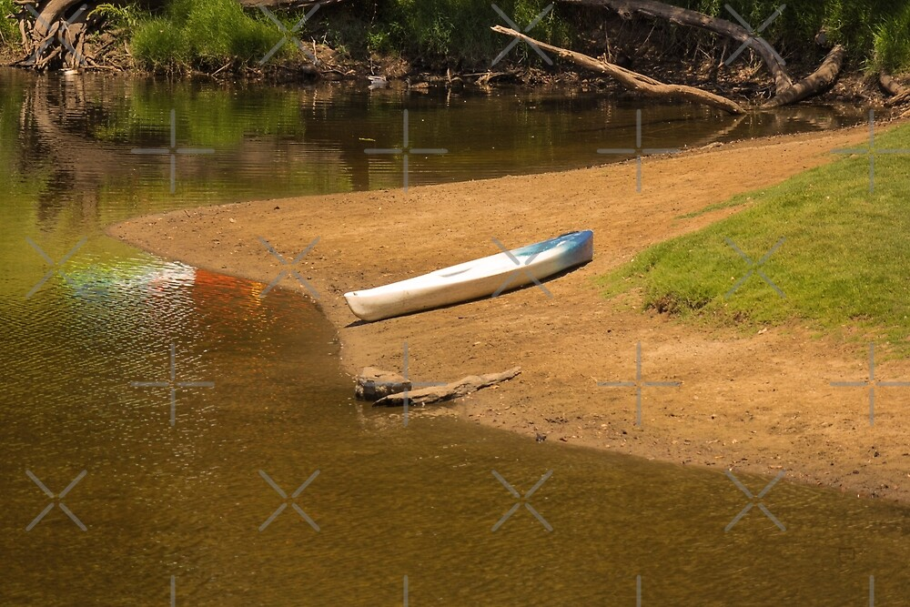 A Lonely Kayak by Elaine Teague
