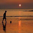 «FÚTBOL - Juego para UNO. Pembrokeshire, Gales.» de mister-john