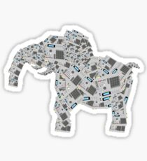 mpc elephant Sticker