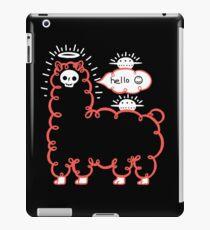 Skullpaka and UFOs are having rest  iPad Case/Skin