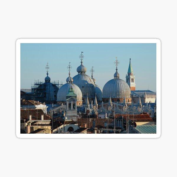Das Leben in Venedig - Altenpflege Sticker