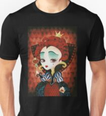 Queen of Hearts Slim Fit T-Shirt