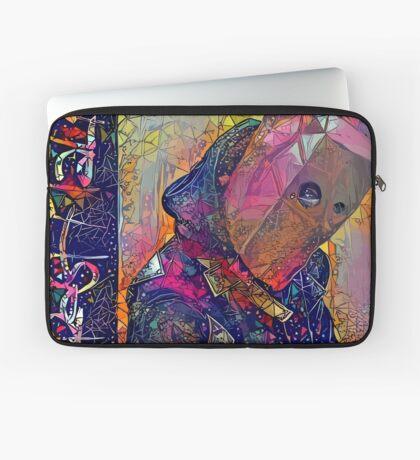 Abstract CrasH Talk Laptop Sleeve