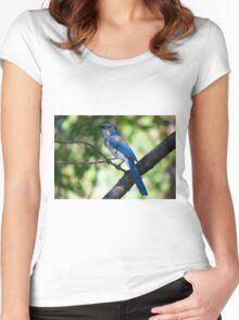 Scrub J Closeup Women's Fitted Scoop T-Shirt