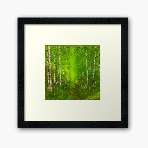 Spring Walk Framed Art Print