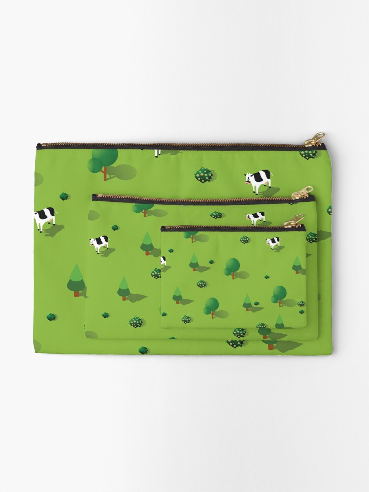 Alternate view of Farm countryside Zipper Pouch