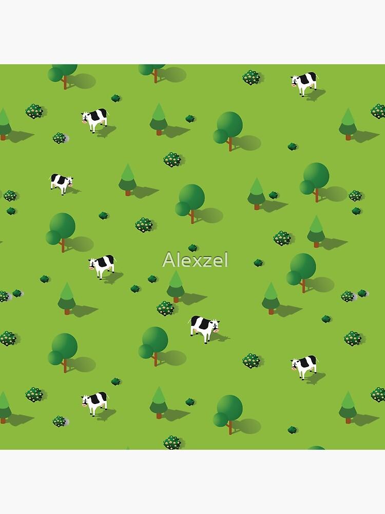 Farm countryside by Alexzel