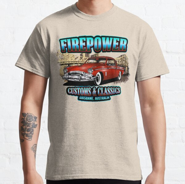 FIREPOWER CUSTOMS AND CLASSICS BRISBANE SOUVENIR Classic T-Shirt