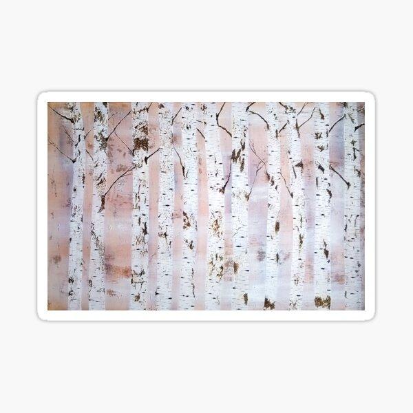 Rustic Trees Sticker