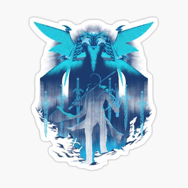 Blue King Sticker