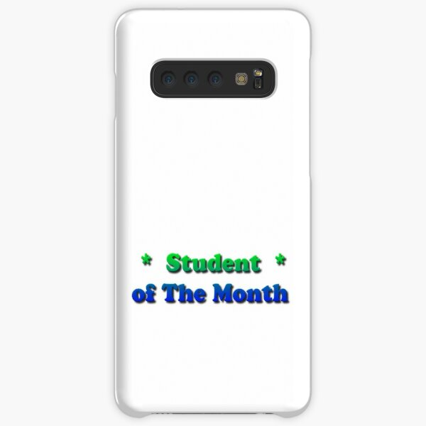 Student of The Month Samsung Galaxy Snap Case