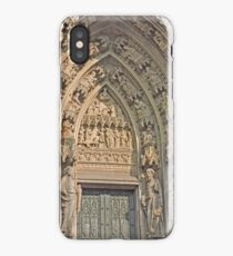 Entrance, Cologne Cathedral, Germany iPhone Case