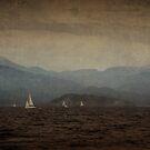 Vintage Sailing On The Mediterranean Coast by Josh Wentz