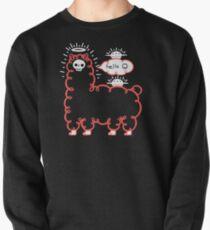 Skullpaka und UFOs ruhen sich aus Sweatshirt
