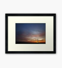 Soft wind Framed Print