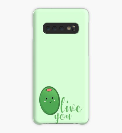OLIVE YOU - Typography - Calligraphy - Text Case/Skin for Samsung Galaxy