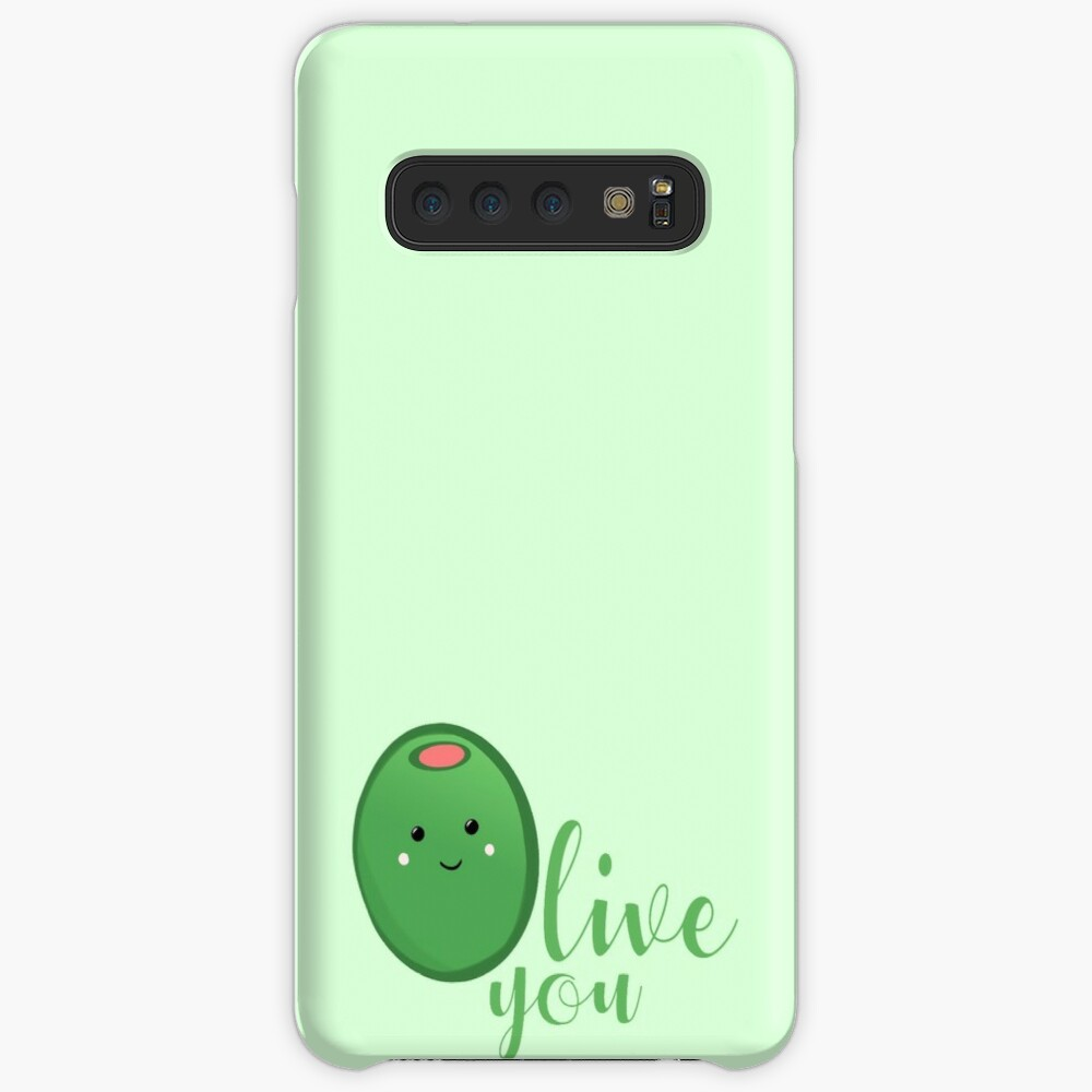 OLIVE YOU - Typography - Calligraphy - Text Case & Skin for Samsung Galaxy