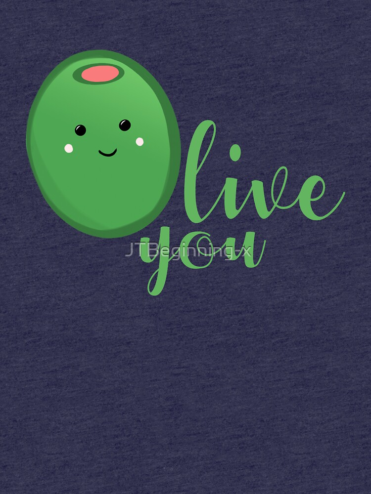 OLIVE YOU - Typography - Calligraphy - Text by JTBeginning-x