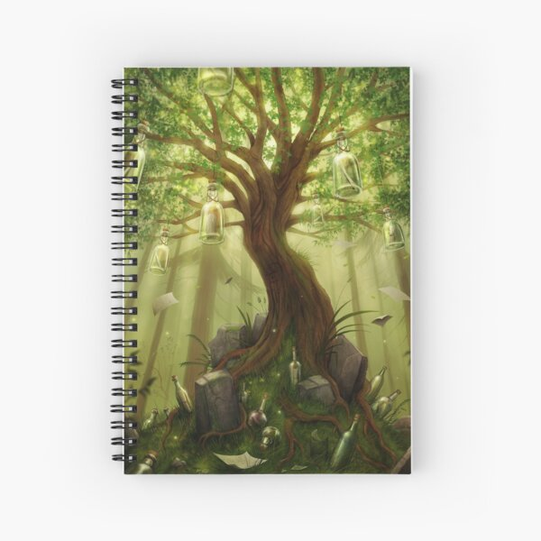The Tree of Forgotten Promises Spiral Notebook