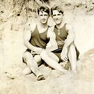 Two men at the beach / 1920s by planete-livres