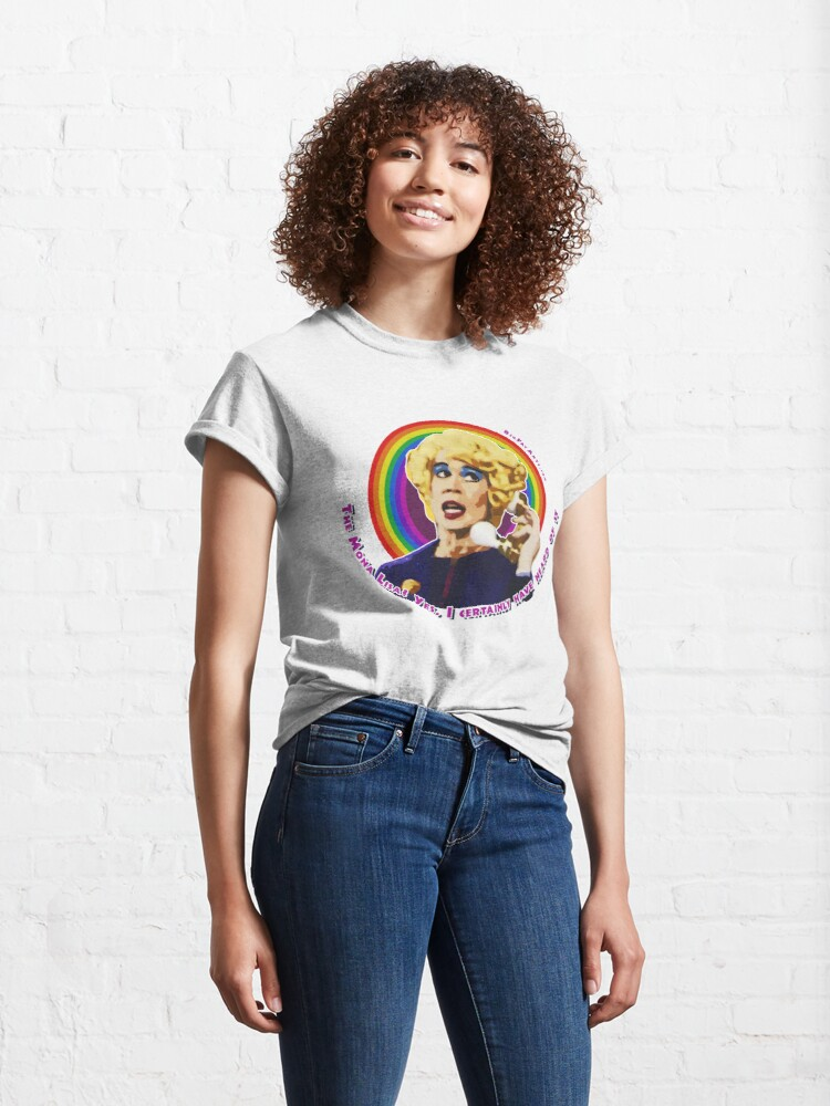Alternate view of Miss Babs Mona Lisa Classic T-Shirt