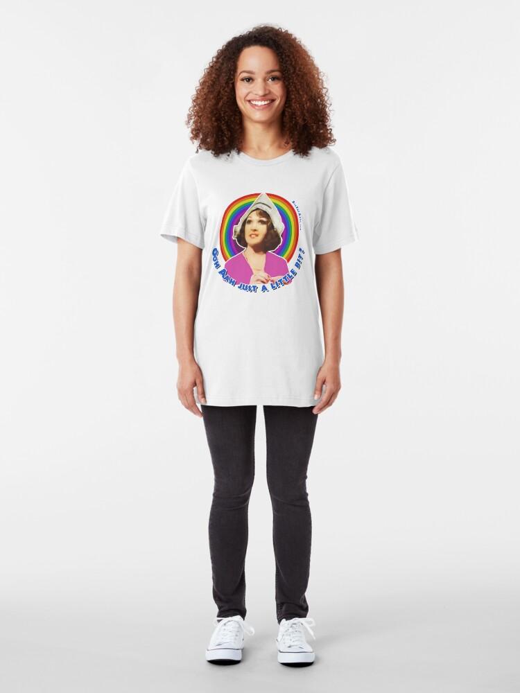 Alternate view of Ooh Aah Bird - Just a Little Bit Slim Fit T-Shirt