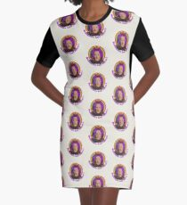 Doughnuts Graphic T-Shirt Dress