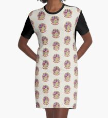Disco Queen Graphic T-Shirt Dress