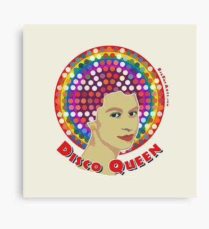 Disco Queen Canvas Print