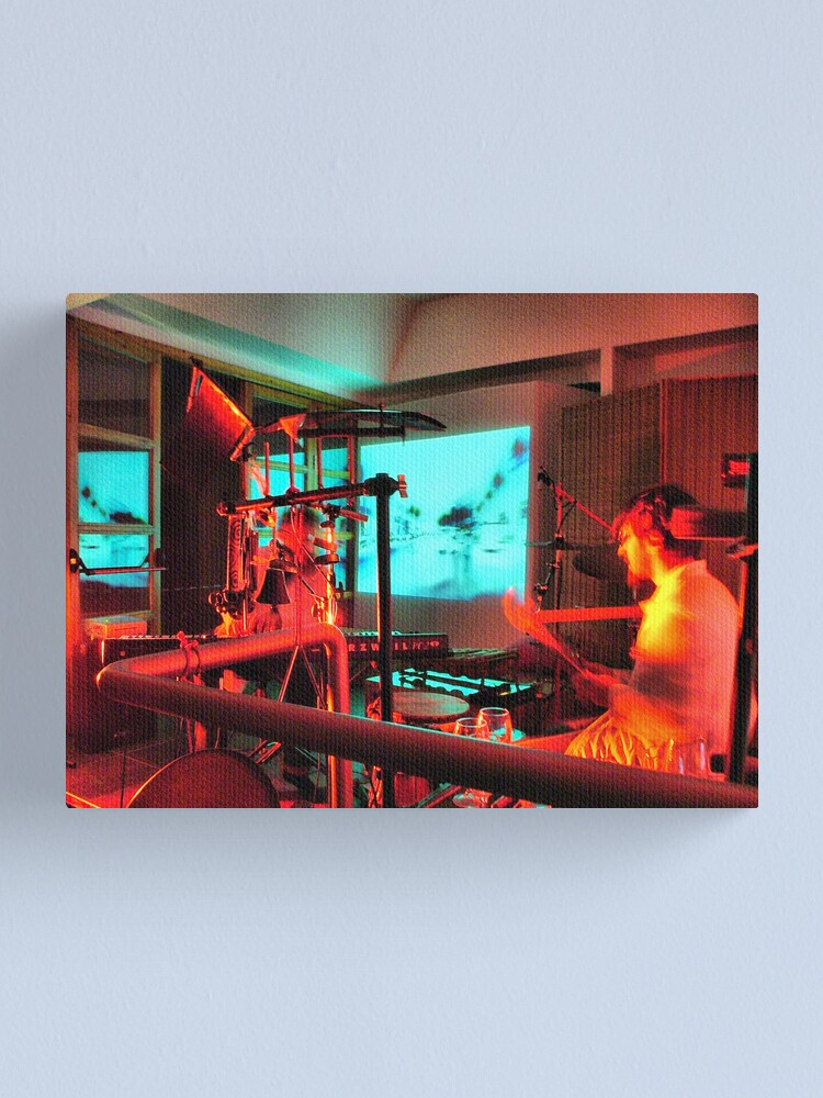 Alternate view of The percussionist Canvas Print