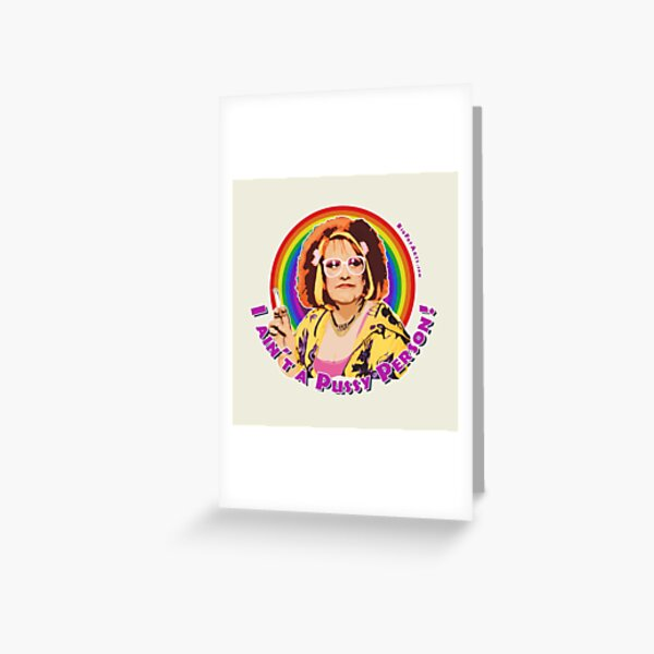 Pussy Person Greeting Card