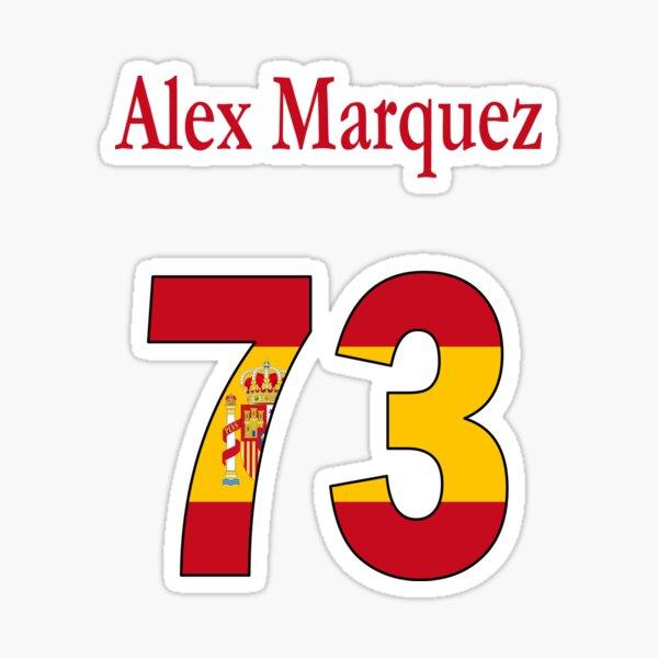 Alex Marquez 73 moto 2 Sticker