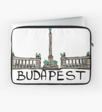 Heroes Square in Budapest Laptop Sleeve