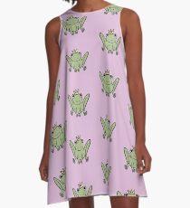 Harold The Frog Prince A-Line Dress