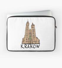 Basilica of Saint Mary in Krakow Laptop Sleeve