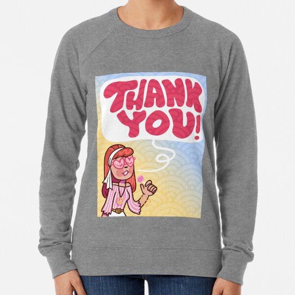 Thank You Note Lightweight Sweatshirt